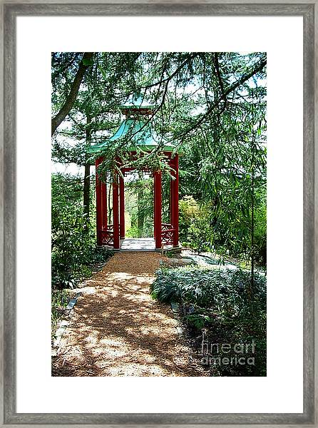 Asian Paths No. 29  Framed Print by Walter Neal