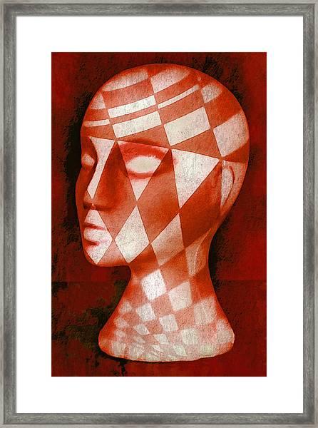 The Red Phantom Framed Print