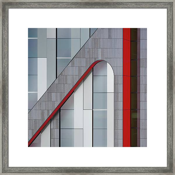 The Red Thread Framed Print