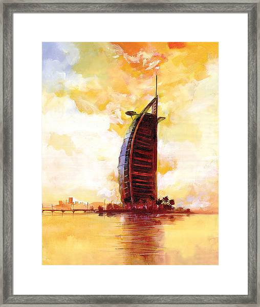 The Reflection 3  Framed Print