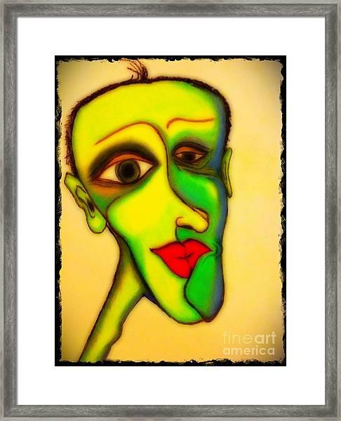 The Resident Framed Print