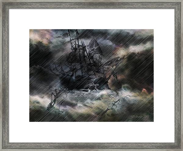 The Ride Of Phoenix Framed Print