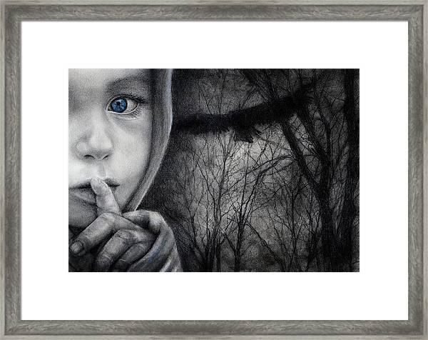 The River's Secret Framed Print
