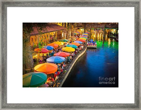 The Riverwalk Framed Print