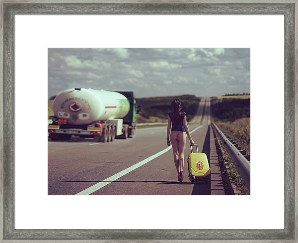 The Road.... Framed Print by Anri Croizet