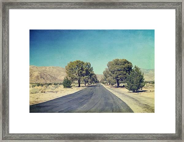 The Roads We Travel Framed Print