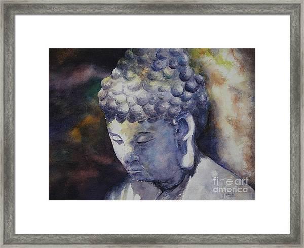The Roadside Buddha Framed Print