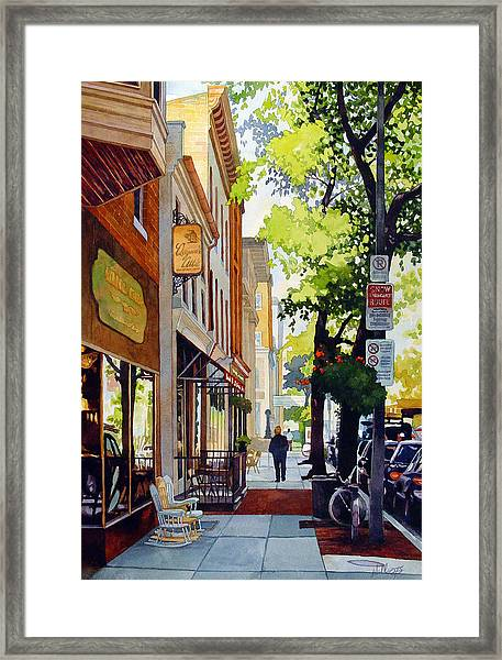 The Rocking Chairs Framed Print