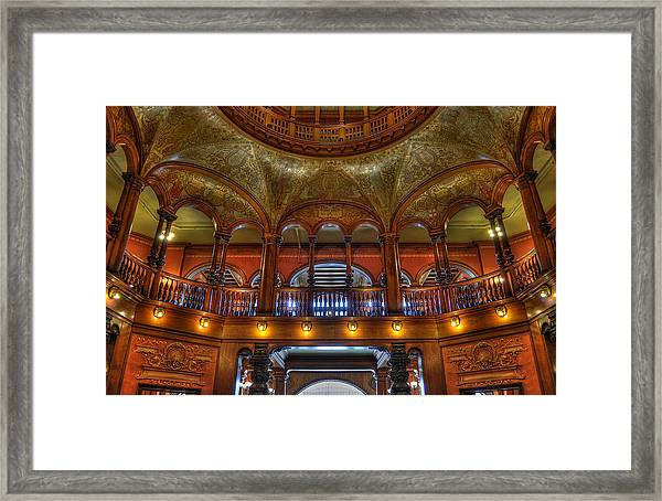 The Rotunda 2 Framed Print