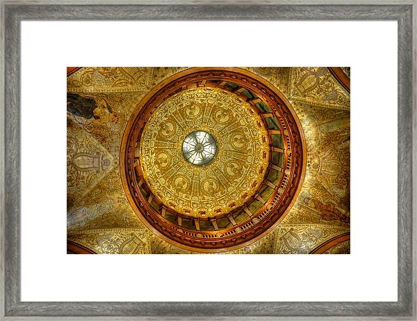 The Rotunda Framed Print