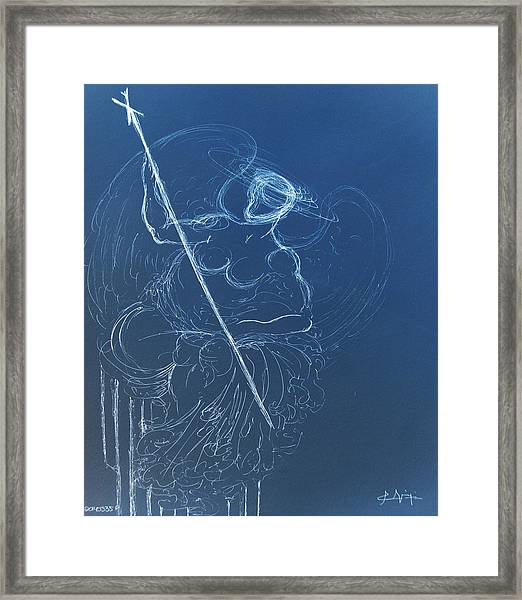 The Sacred Feminine  Framed Print