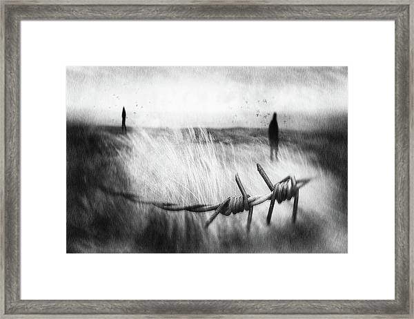 The Sadness Will Last Forever Framed Print