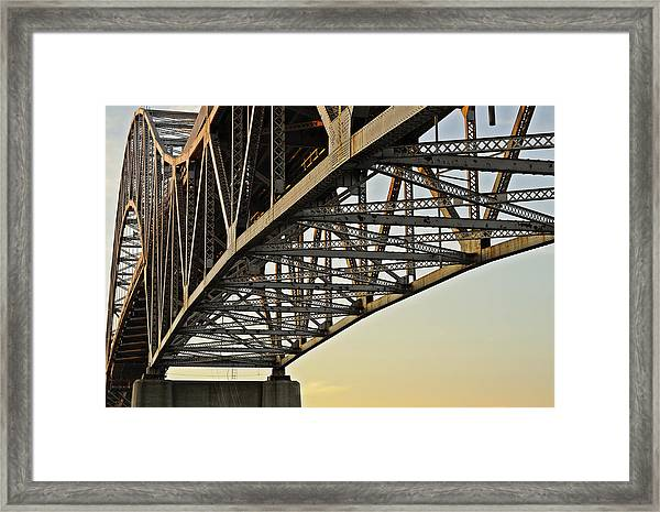 The Sagamore Bridge Framed Print