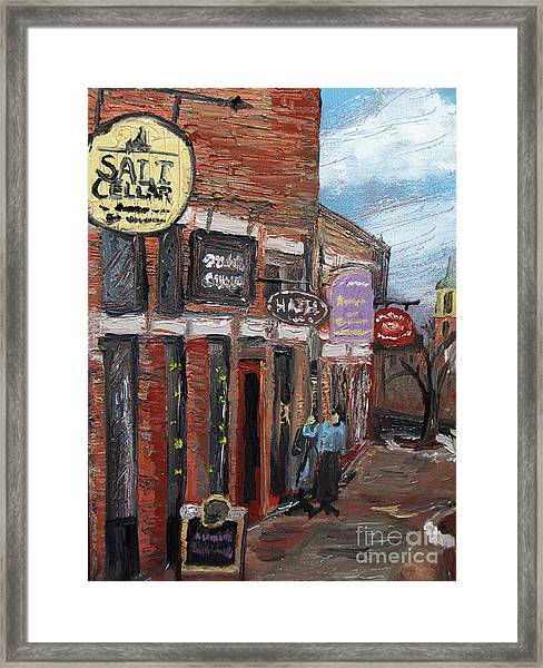 The Salt Cellar Framed Print
