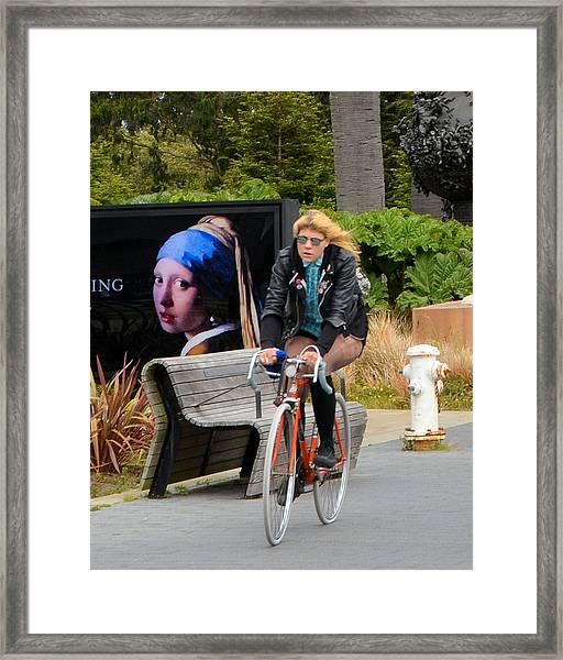 The San Francisco Girl Framed Print