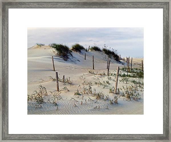 The Sands Of Obx II Framed Print