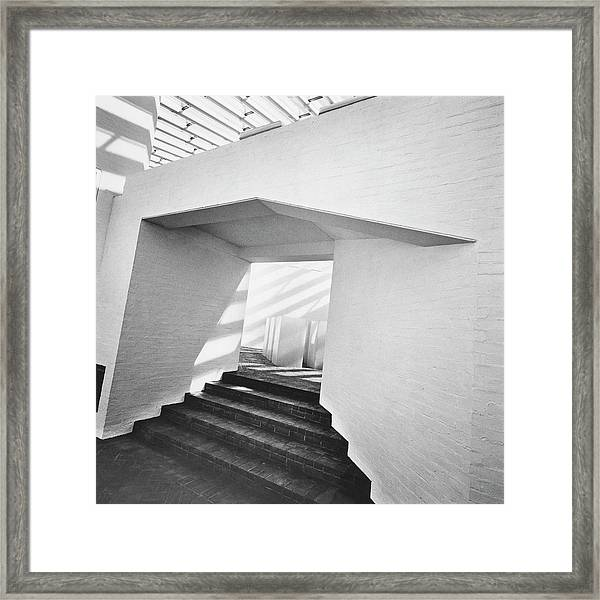 The Sculpture Gallery Of Architecture Philip Framed Print
