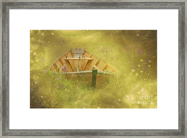 The Sea Of Dreams... Framed Print