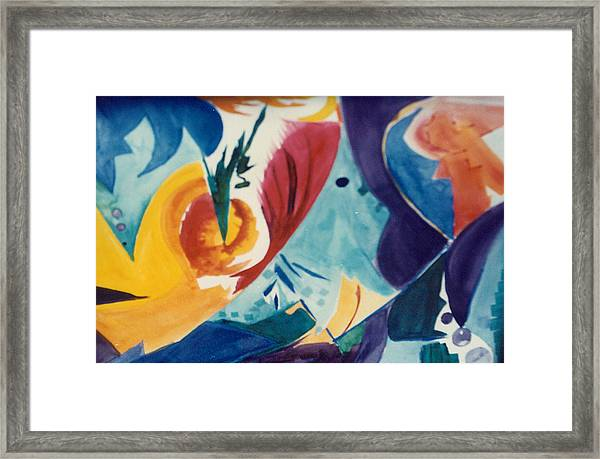 The Seed Framed Print by Phoenix Simpson