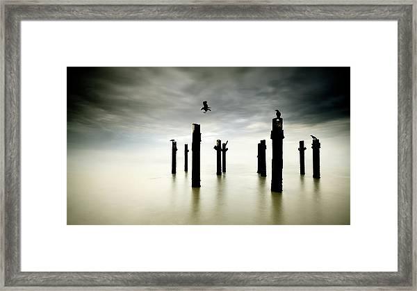 The Sentinels Framed Print