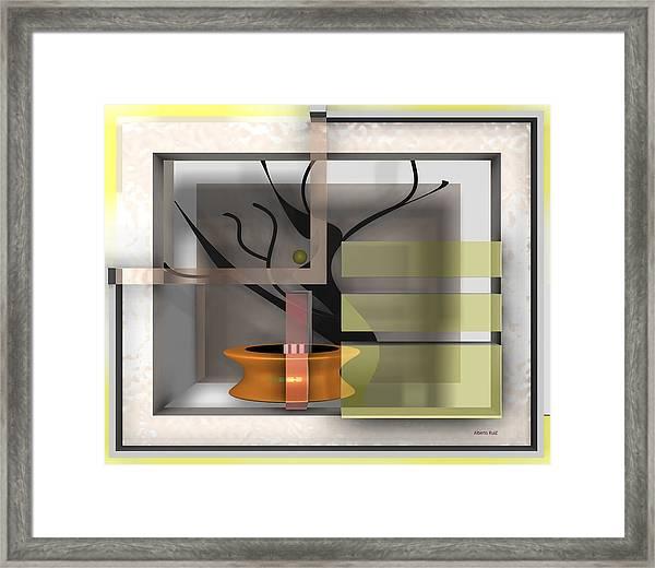 The Shade A Bonsai Framed Print