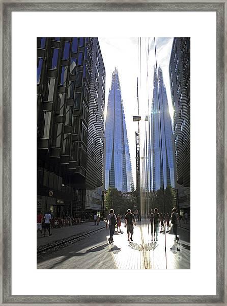 The Shard London Framed Print