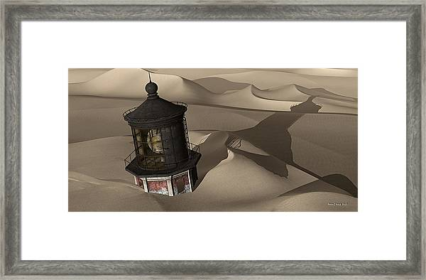 The Shifting Sands Of Time Framed Print
