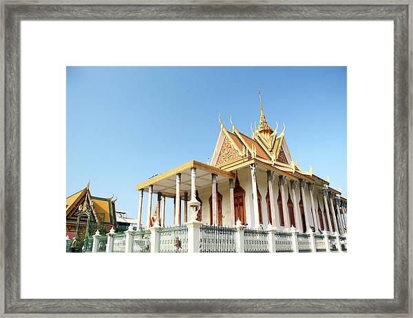 The Silver Pagoda In Phnom Penh Framed Print