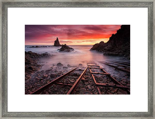 The Sirens Call Me Framed Print
