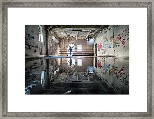 The Solitary Dancer Framed Print