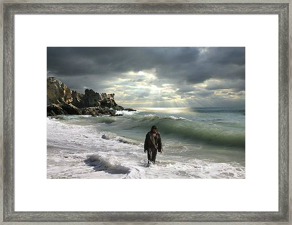 The Son Is The Radiance Of God's Glory Framed Print