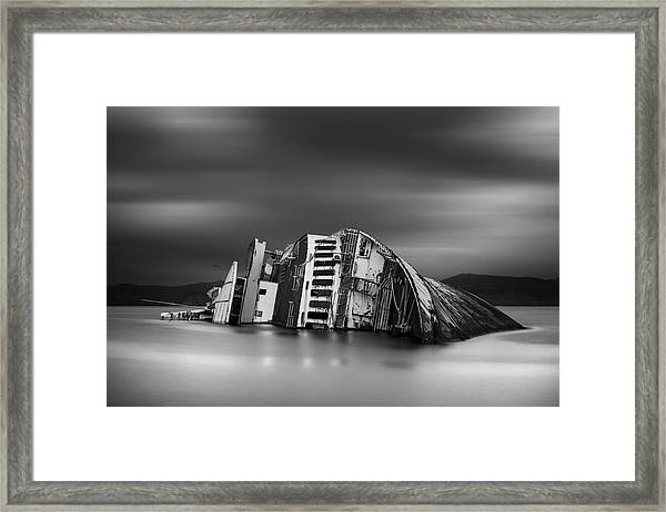The Song Of The Sirens Framed Print by Chris Vasiliadis