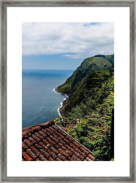 The Southeastern Coast Framed Print