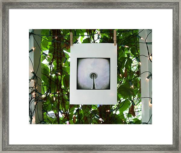 The Space Needle Framed Print