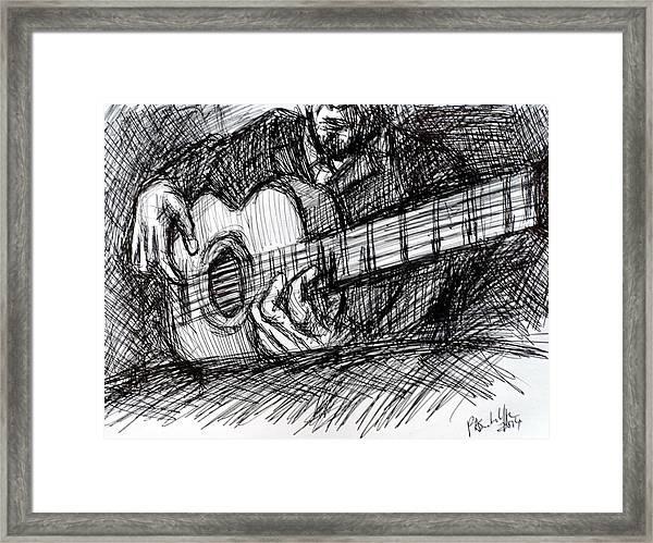 The Spanish Guitarist Framed Print