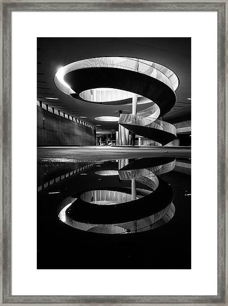 The Spiral Of Time! Framed Print