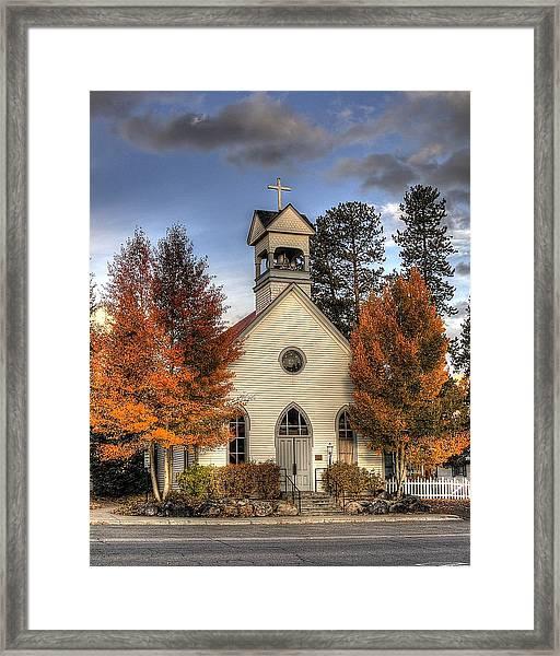 The Spirit Of Breckenridge Framed Print