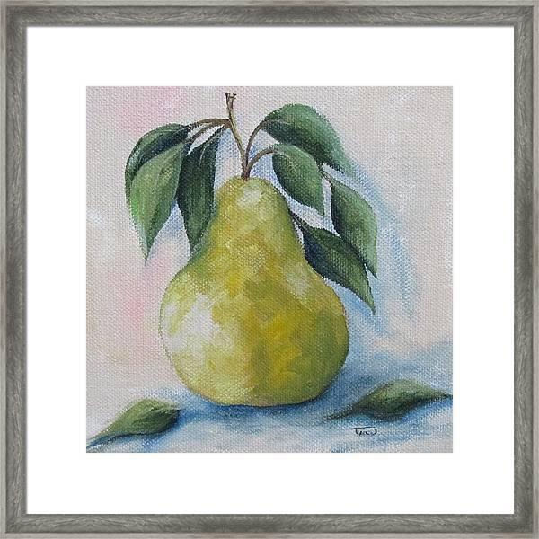 The Spring Pear Framed Print