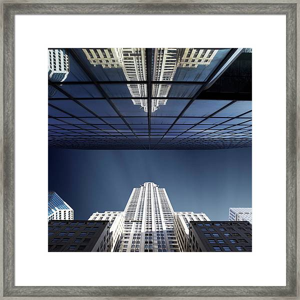 The Star Of Lexington Framed Print by Sebastien Del Grosso