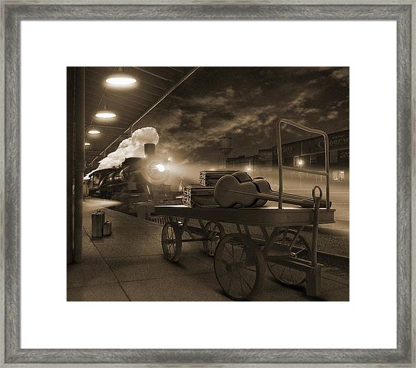 The Station 2 Framed Print