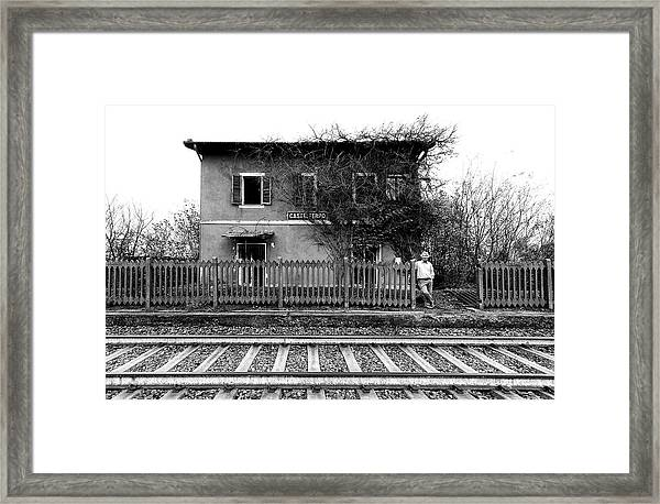 The Station Of Castelferro Framed Print