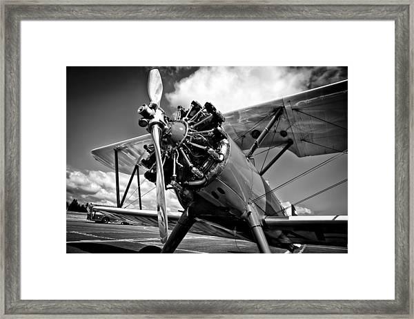 The Stearman Biplane Framed Print