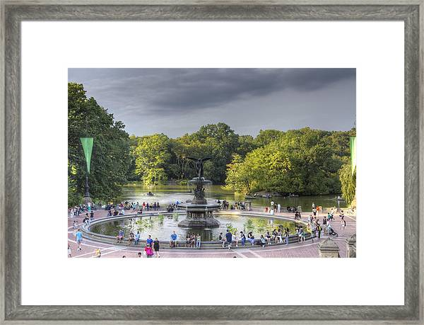 The Storm Approaches Framed Print by Zev Steinhardt