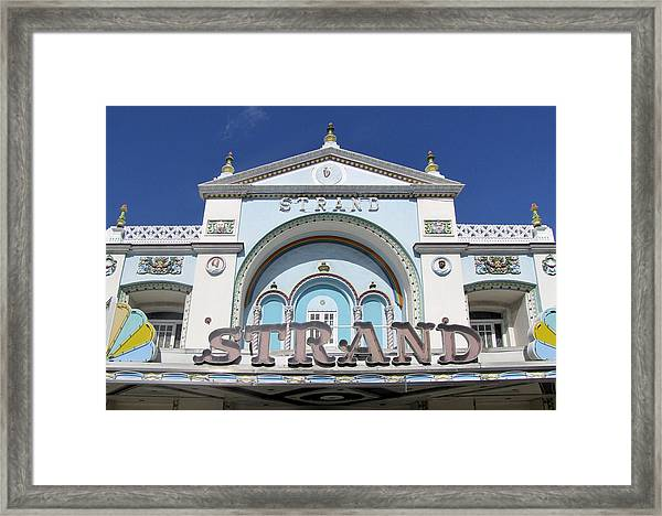 Framed Print featuring the photograph The Strand Key West by Bob Slitzan