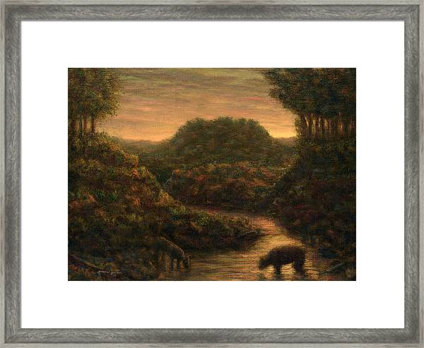 The Stream Framed Print