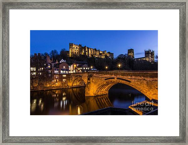 The Stunning City Of Durham In Northern England Framed Print