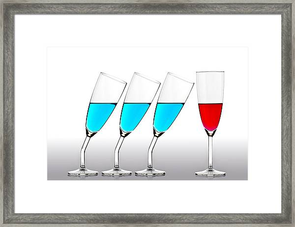 The Suitors Framed Print