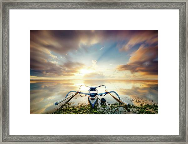 The Summer Rush Framed Print