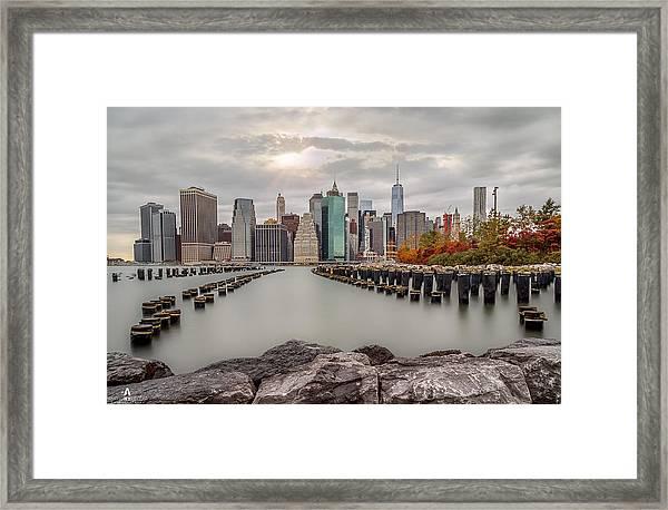 The City Of God Framed Print