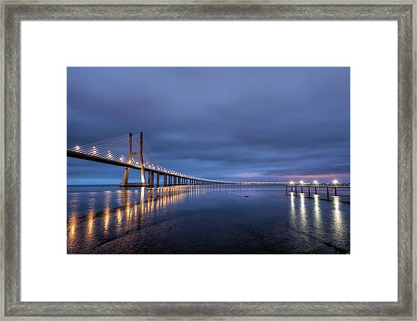The Sunrise That Never Happened Framed Print